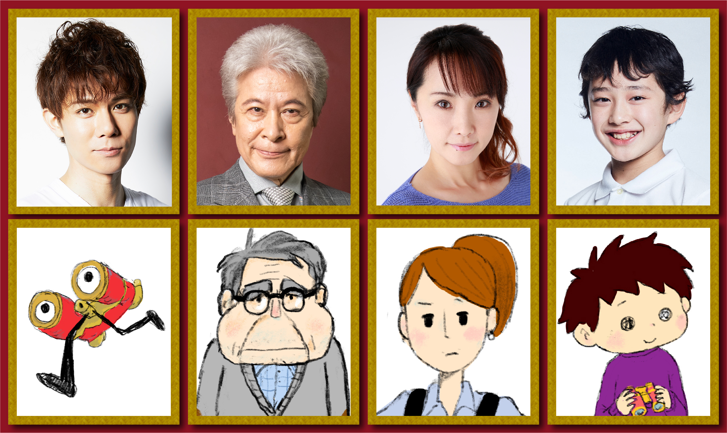 """ホリプロ×ドワーフ """"ミュージカルショートムービー""""『ギョロ 劇場へ』"""
